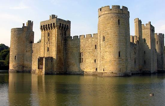 Castelo de Bodiam, Inglaterra.