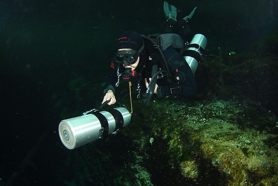 CAVE DIVING <BR>