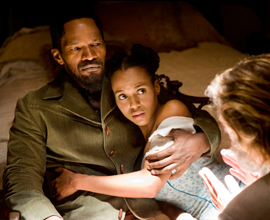Se Django e Schultz quiserem escapar levando Broomhilda, eles precisam escolher entre a independência e a solidariedade, entre o sacrifício e a sobrevivência...
