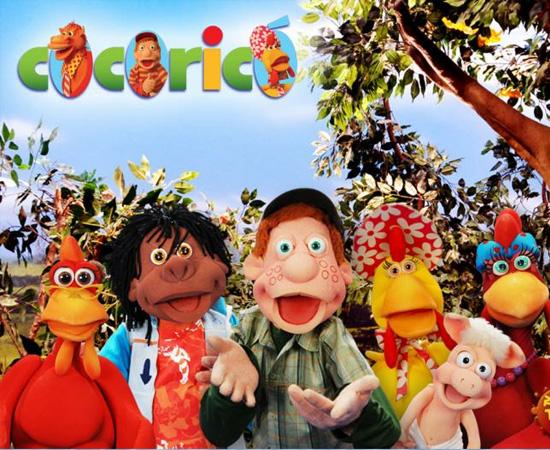 Cocoricó (1996) é uma série de TV sobre um garoto que brinca com vários animais em um paiol.