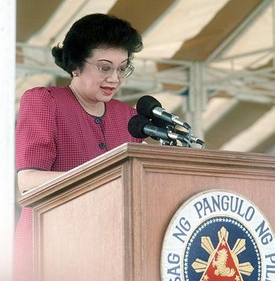 Presidente das Filipinas na década de 1980 e até o começo dos anos 90, Corazon Aquino foi mais do que uma política. Foi líder e heroína do movimento que derrubou a ditadura que tomava conta do país.
