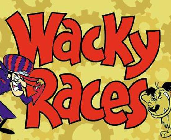 Corrida Maluca (1968) é uma série animada que mostra uma competição entre vários personagens.