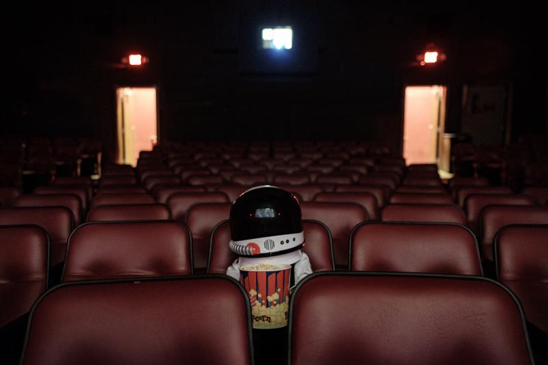 Astronautas também vão ao cinema