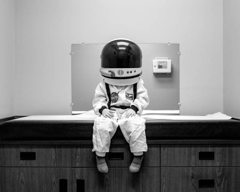 Astronautas também vão ao médico, né?