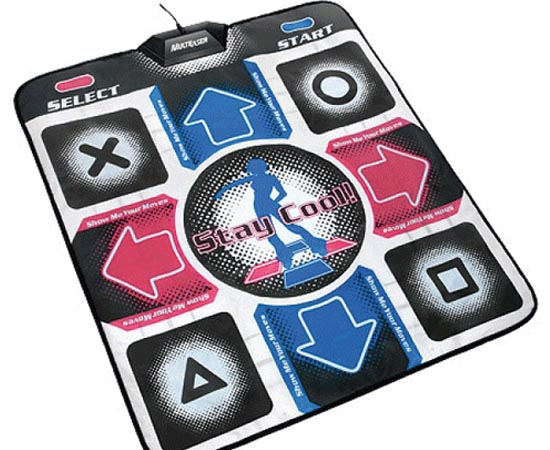 Dance Dance Revolution Pad para Playstation (Konami) - 1999