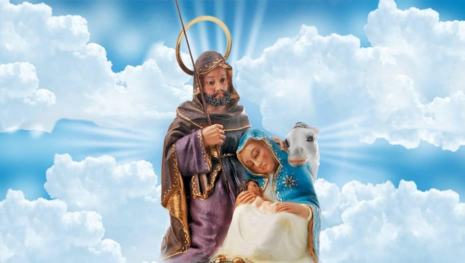 Nossa Senhora do Desterro:Lembra a fuga de Maria, José e do menino Jesus para o Egito. Segundo a Bíblia, a família escapava da perseguição do rei Herodes, que mandara matar todos os primogênitos da Palestina.
