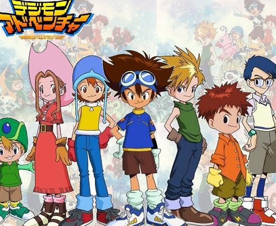 Digimon (1999) é um anime sobre crianças que viajam para o Digimundo, uma dimensão cheia de monstros.