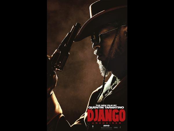 Jamie Foxx interpreta Django, um escravo que vive no sul dos Estados Unidos após ter sido separado de sua esposa, Broomhilda. Clique em Leia Mais para ver a imagem em tamanho maior.