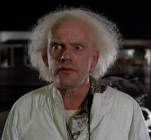 Doutor Brown é o cientista da série <i>De Volta Para o Futuro</i>. Ele é o inventor da máquina do tempo mostrada nos filmes.