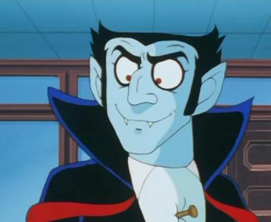 Don Drácula (1979) é um anime sobre um vampiro que se muda para o Japão para fugir de Van Helsing.