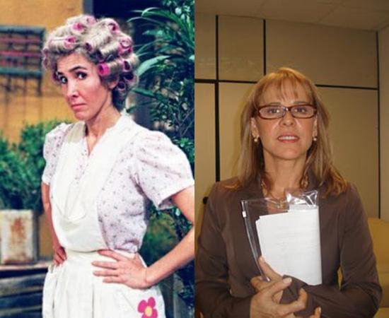 Dubladora: Marta Volpiani. Fez a dublagem das personagens de Florinda Meza, como Dona Florinda e Pópis de Chaves.