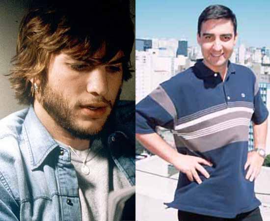 Dublador: Márcio Araújo. Já fez a voz de Ashton Kutcher, Brad Pitt, Joaquin Phoenix e Owen Wilson.