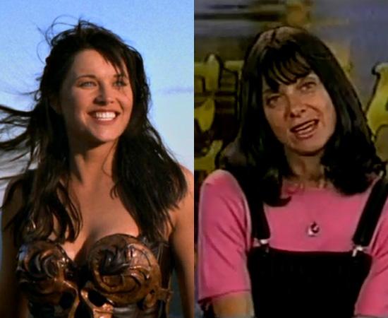 Dubladora: Sheila Dorfman. Fez a dublagem de vários personagens da Sandra Bullock, Halle Berry e Cameron Diaz. É dona da voz de Xena, a princesa guerreira.