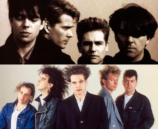 Echo & The Bunnymen e The Cure fizeram turnês de sucesso no Brasil. Imitar o vocalista do Cure, Robert Smith, era tão comum que ele teria pedido a um fã do Rio que mudasse o cabelo.