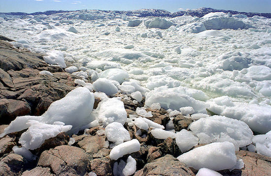 Onde: Eismitte, Groenlândia