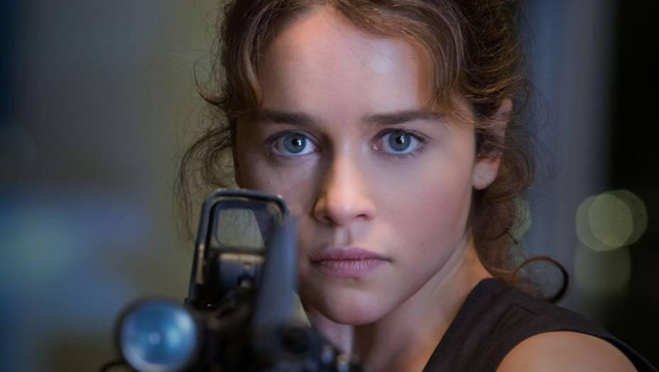 Emilia Clarke - Sarah Connor | O Exterminador do Futuro: Gênesis (2015)