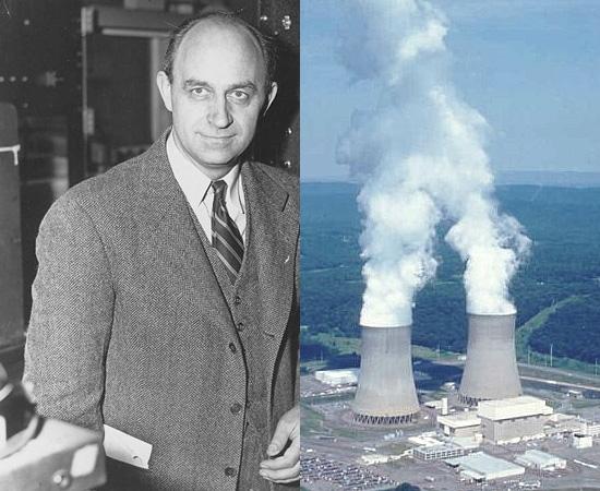 ENERGIA NUCLEAR (1942) - A fissão nuclear foi descoberta anos antes, mas a primeira reação em cadeia foi supervisionada pelo físico italiano Enrico Fermi (foto), que trabalhava no Projeto Manhatan.