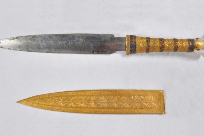 Faraó Tutancâmon tinha uma faca que veio do espaço