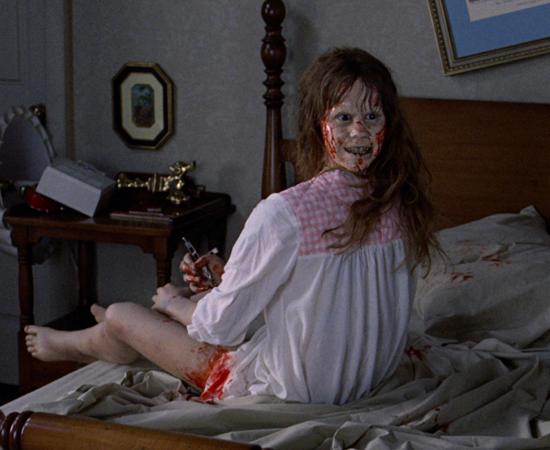'O EXORCISTA' (1973), de William Friedkin, foi censurado até a década de 1990 no Reino Unido por ser considerado extremamente assustador.