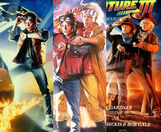 FILMES E SÉRIE - Após De Volta para o Futuro, outros dois filmes da saga foram produzidos: De Volta para o Futuro II (1989) e De Volta para o Futuro III (1990). Além disso, houve um desenho animado com duas temporadas de 13 capítulos, cada.