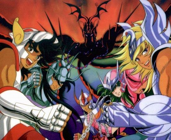 FILMES, ANIMES E MANGÁS - O mangá Saint Seiya, criado por Masami Kurumada, foi adaptado no anime Os Cavaleiros do Zodíaco e em vários OVAs (animes de longa duração lançados diretamente no mercado de vídeo). Além disso, existe o mangá Os Cavaleiros do Zodíaco: Episódio G que é uma prequência da história original; o mangá Saint Seiya: Next Dimension; o mangá Saint Seiya: The Lost Canvas; e o anime Saint Seiya Ω que tem uma história original. Também existem cinco filmes da saga, um livro e um musical.