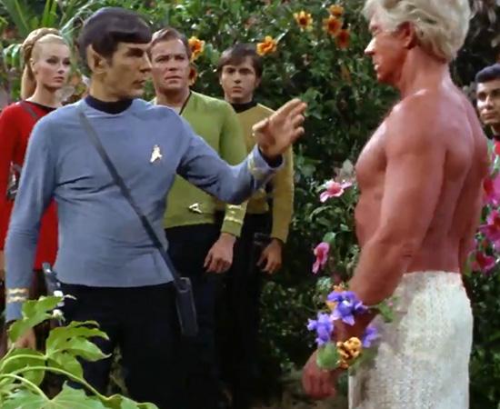 'Fascinante.' - Mr. Spock, sempre fazendo relatórios para a missão da nave Enterprise.