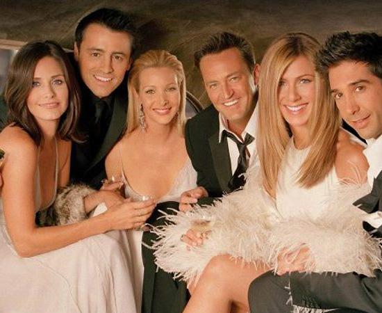Friends (1994) é uma série de TV que teve 10 temporadas. Mostra as histórias de seis amigos inseparáveis.