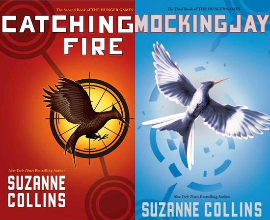 FUTURO - O próximo filme da saga Jogos Vorazes, Catching Fire, deve ser gravado no segundo semestre de 2012. O terceiro livro, Mockinjay, será adaptado em dois filmes, que devem ser lançados em novembro de 2014 e novembro de 2015.