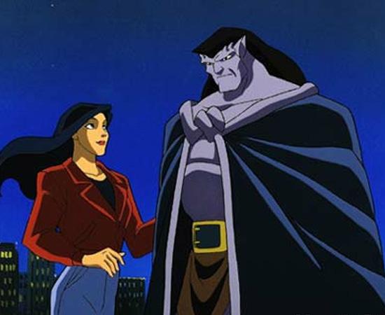Os Gárgulas (1994) é uma série animada sobre estátuas que ganham vida à noite.