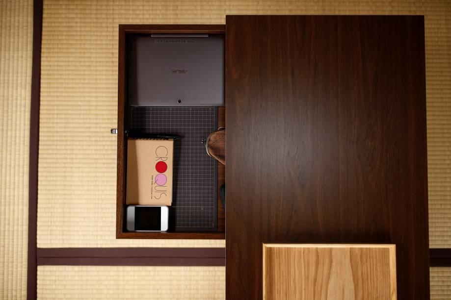 Toyoda também mantém o padrão em outras áreas de sua casa.