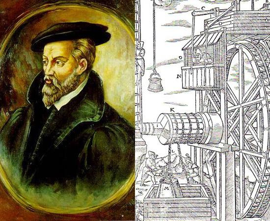 Mineralogia (1556) - O pesquisador Georgius Agricola, conhecido como o Pai da Mineralogia escreveu o livro De Re Metallica. A obra póstuma é um tratado sobre mineração e metalurgia que revolucionou a História.