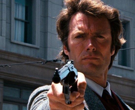 Harry Callahan é o personagem principal da série de filmes Dirty Harry. Imortalizado por Clint Eastwood, o protagonista é um detetive que perpassa o limite da lei para conseguir exterminar criminosos.