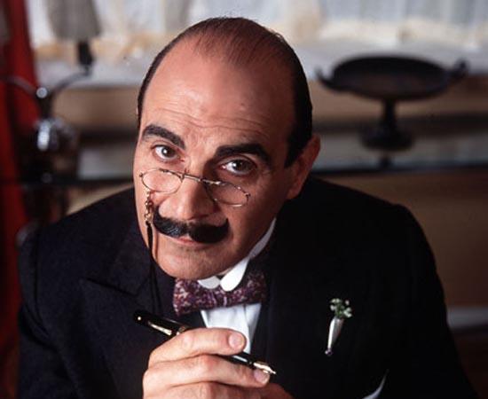 Hercule Poirot é um detetive criado pela escritora Agatha Christie. Ele é o protagonista de mais de 40 livros de ficção policial.