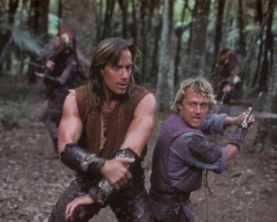 Hércules (1995) é uma série de TV sobre o mitológico filho de Zeus, um homem com força sobrenatural.