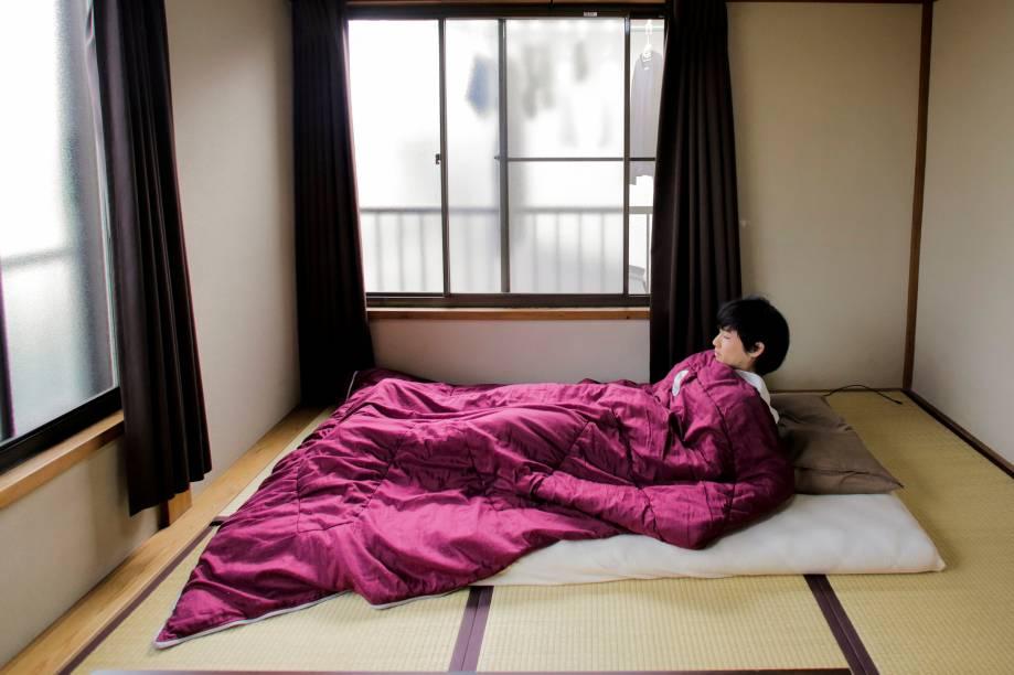 Os quartos dos minimalistas também tendem a ser o mais vazio possível.