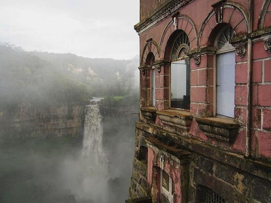 Hotel del Salto, perto de Bogotá, Colombia.