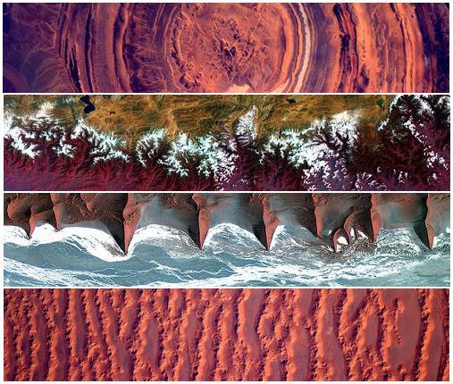 A Terra está repleta de belezas que podem ser admiradas até mesmo por quem está fora dela. Veja 11 imagens do nosso planeta tiradas pela Agência Especial Europeia.