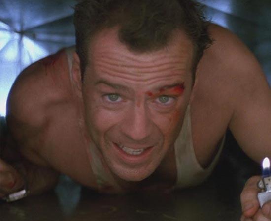 John McClane é o personagem principal dos filmes Duro de Matar. Ele é detetive do Departamento de Polícia de Nova Iorque. O papel foi eternizado pela interpretação de Bruce Willis.