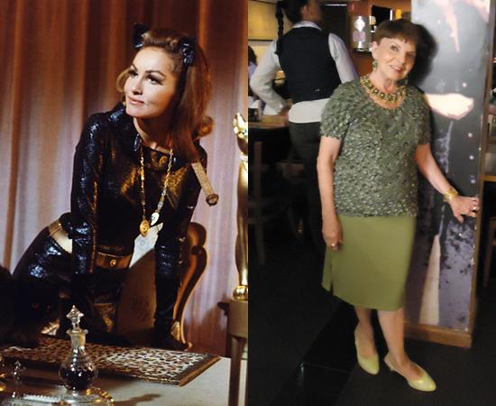Dubladora: Gessy Fonseca. Foi a dona da voz da Mulher Gato, interpretada por Julie Newmar. Também dublou a Tia May, do Homem-Aranha.