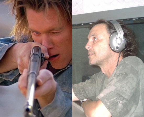 Dublador: Tatá Guarnieri. Gravou a voz para o personagem de Kevin Bacon (Vermes Malditos). Também dublou Jim Carrey e Jackie Chan.