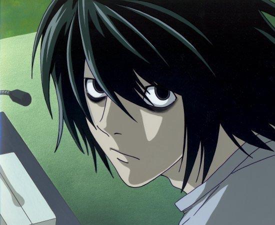 L é um personagem do mangá / anime Death Note, conhecido por ser o maior detetive do mundo.