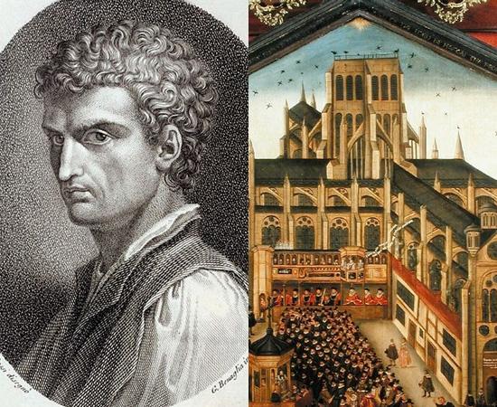 PERSPECTIVA - Apenas durante o Renascimento é que pesquisadores começaram a se interessar por estudos relacionados à perspectiva gráfica. O arquiteto Leon Battista Alberti foi um dos pioneiros a fazer e conceituar representações tridimensionais em uma superfície plana.