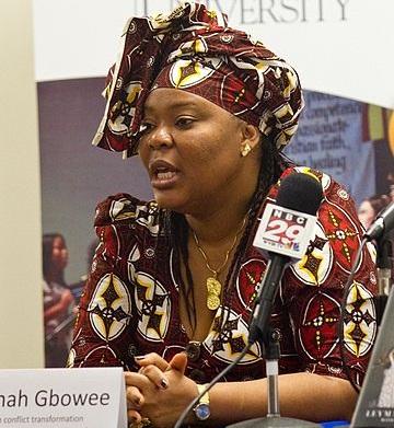 Leymah Gbowee liderou mulheres na Libéria, um movimento que conseguiu terminar com uma Guerra Civil que tinha matado cerca de 250 mil pessoas até então. Ela venceu o Prêmio Nobel da Paz de 2011.