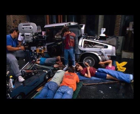 LOCAÇÕES - Os três filmes De Volta para o Futuro foram gravados em diferentes áreas do Estado da California, nos EUA.