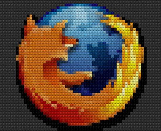O navegador Mozilla Firefox também recebeu uma homenagem de um fã.