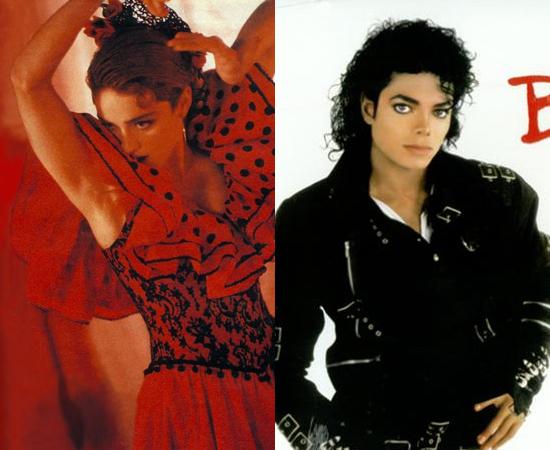 La Isla Bonita foi composta para Michael Jackson. Ele não quis. Virou hit na voz de Madonna, enquanto MJ bombava com Bad.