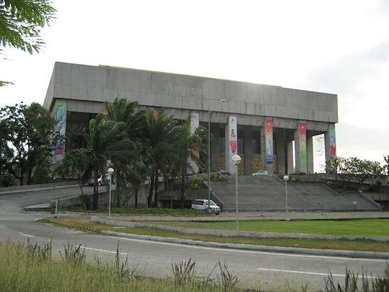 Manila Film Center, Filipinas