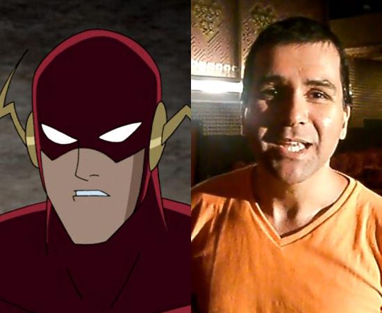 Dublador: Marcelo Garcia. Deu voz ao Flash (Liga da Justiça) e ao Krypto, o Super-Cão.