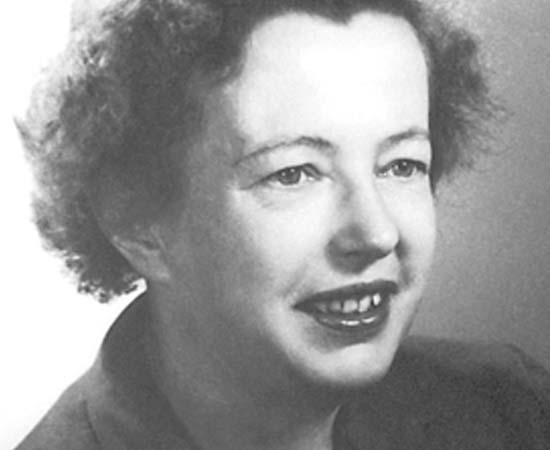 Maria Mayer (1906 - 1972) - Física teórica alemã que ganhou o Prêmio Nobel de Física por suas pesquisas sobre a estrutura do átomo.