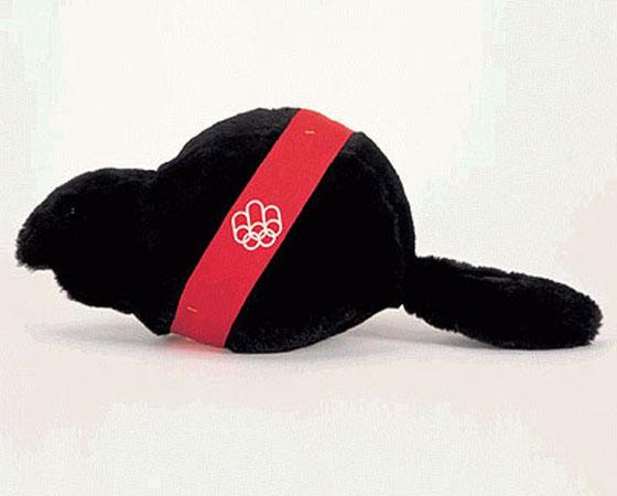 ´Amik´ - Jogos Olímpicos de Montreal (1976): O castor é um dos símbolos nacionais do Canadá. Uma escolha meio óbvia para o mascote dos Jogos realizados no país, não?